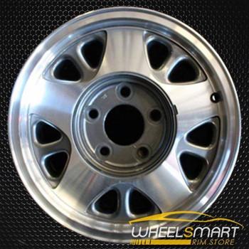 """15"""" Chevy Astro Van oem wheel 1993-2002 Machined alloy stock rim ALY05025U10"""