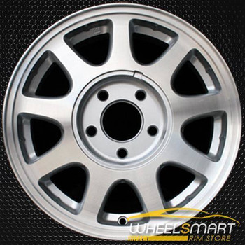 "15"" Chevy Malibu oem wheel 1998-1999 Machined slloy stock rim ALY05066U10"