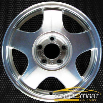 "16"" Chevy Monte Carlo oem wheel 1998-1999 Machined slloy stock rim ALY05067U10"