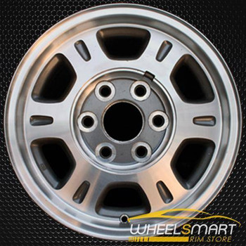 "16"" GMC Sierra 1500 oem wheel 1999-2002 Machined slloy stock rim ALY05077U10"