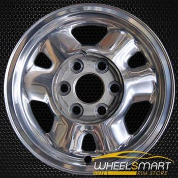 "16"" GMC Yukon oem wheel 1999-2003 Polished slloy stock rim ALY05095A80"