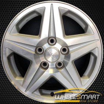 "16"" Chevy Monte Carlo oem wheel 2000-2001 Machined slloy stock rim ALY05115U10"