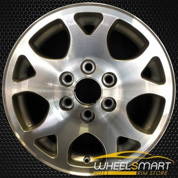 "17"" Chevy Tahoe oem wheel 2001-2006 Machined slloy stock rim ALY05117U10"