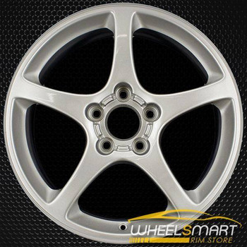 "17"" Chevy Corvette oem wheel 2000-2004 Silver slloy stock rim ALY05121U10"