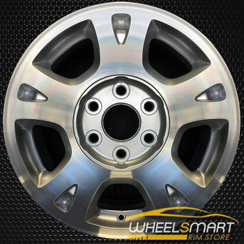 "17"" Chevy Avalanche oem wheel 2002-2006 Machined slloy stock rim ALY05130U20"