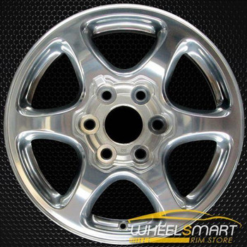 "17"" GMC Yukon oem wheel 2001-2006 Polished slloy stock rim ALY05132U80"