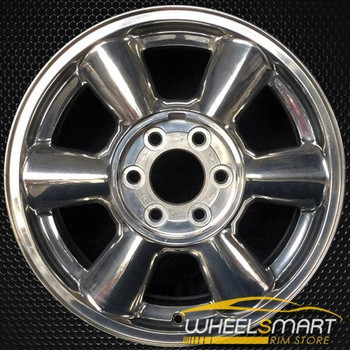 "17"" GMC Envoy oem wheel 2002-2007 Polished slloy stock rim ALY05143U80"