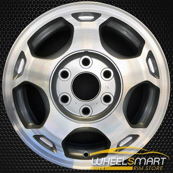 "16"" Chevy Avalanche oem wheel 2003-2007 Machined slloy stock rim ALY05154U20"