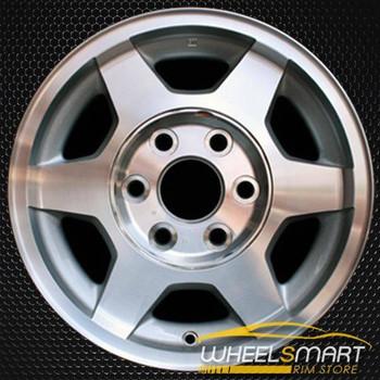 "16"" GMC Sierra 1500 oem wheel 2003-2007 Machined slloy stock rim ALY05156U20"