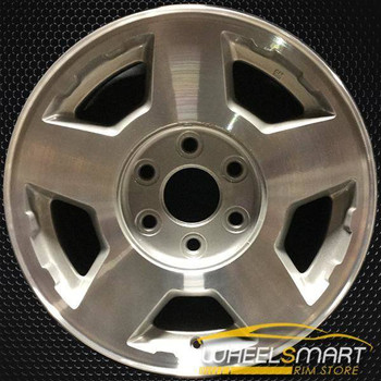 "17"" Chevy Silverado oem wheel 2004-2007 Machined slloy stock rim ALY05196U20"