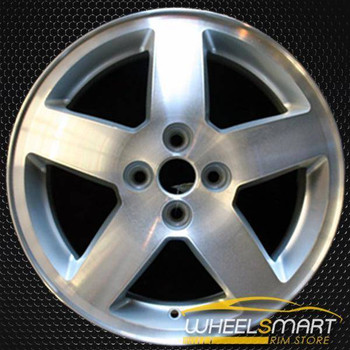 "16"" Chevy Cobalt oem wheel 2005-2006 Machined slloy stock rim ALY05214U10"