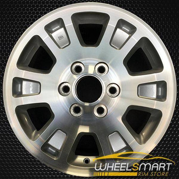 "17"" GMC Sierra 1500 oem wheel 2005-2008 Machined slloy stock rim ALY05222U20"