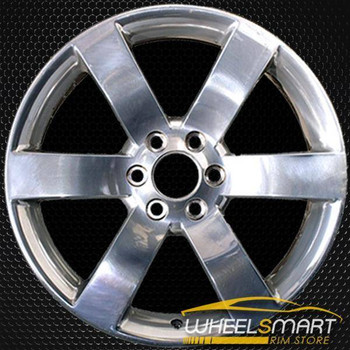 "20"" Chevy Trailblazer oem wheel 2006-2009 Polished slloy stock rim ALY05254U80"