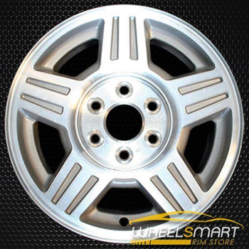 "17"" Chevy Silverado oem wheel 2007-2008 Machined slloy stock rim ALY05294U10"