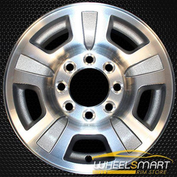 "17"" GMC Sierra 2500 3500 oem wheel 2007-2014 Machined alloy stock rim ALY05298U10"