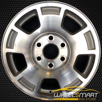 "17"" Chevy Avalanche oem wheel 2007-2014 Machined slloy stock rim ALY05299U10"