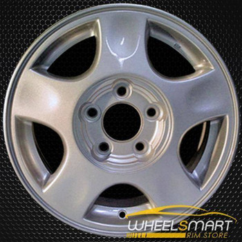 "15"" Chevy Malibu OEM wheel 2000-2002 Silver alloy stock rim ALY05097U10"