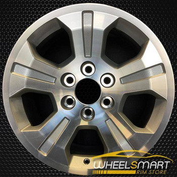 "18"" Chevy Silverado OEM wheel 2014 Machined alloy stock rim ALY05647U10"