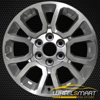 "18"" GMC Sierra OEM wheel 2014 Machined alloy stock rim ALY05649U10"