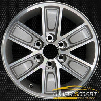 "17"" GMC Sierra OEM wheel 2014 Silver alloy stock rim ALY05654U10"