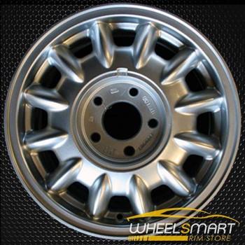 """15"""" Oldsmobile Delta 88 98 OEM wheel 1996-1999 Silver alloy stock rim ALY06022U10"""