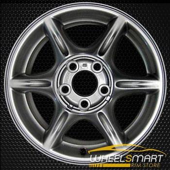 """15"""" Oldsmobile Alero OEM wheel 1999-2001 Silver alloy stock rim ALY06034U20"""