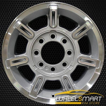 "17"" Hummer H2 OEM wheel 2003-2007 Machined alloy stock rim ALY06300U20"