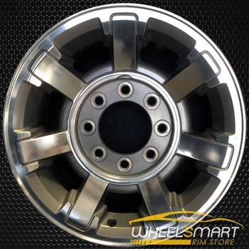 "17"" Hummer H2 OEM wheel 2008-2009 Machined alloy stock rim ALY06309U10"