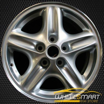 "16"" Pontiac Bonneville OEM wheel 1996-1999 Silver alloy stock rim ALY06524U10"