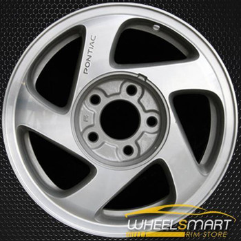 "15"" Pontiac Grand Am OEM wheel 1999-2000 Silver alloy stock rim ALY06532U10"