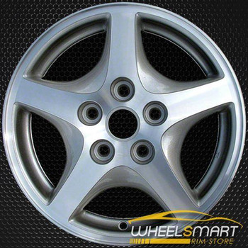 "15"" Pontiac Transport OEM wheel 1997 Machined alloy stock rim ALY06542U10"