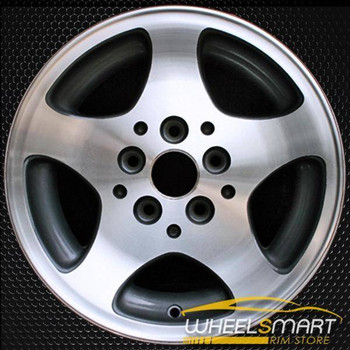 "15"" Jeep Grand Cherokee OEM wheel 1996-1998 Machined alloy stock rim ALY09014U15"