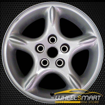 "16"" Jeep Wrangler OEM wheel 2000-2001 Silver alloy stock rim ALY09025U20"