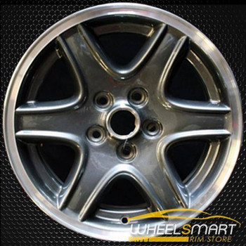 "16"" Jeep Liberty OEM wheel 2002-2004 Charcoal alloy stock rim ALY09037U30"