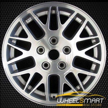 "17"" Jeep Grand Cherokee OEM wheel 2003-2004 Machined alloy stock rim 9052 ALY09052U10"