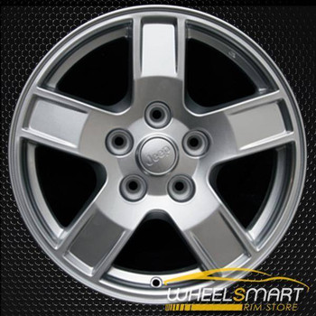 "17"" Jeep Grand Cherokee OEM wheel 2005-2007 Silver alloy stock rim ALY09053U20"