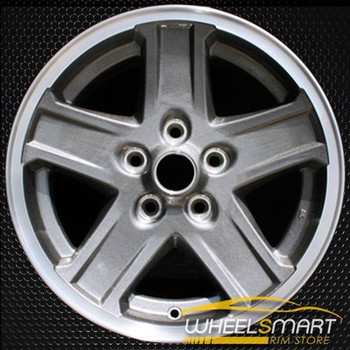 "16"" Jeep Liberty OEM wheel 2005-2006 Machined alloy stock rim ALY09056U35"