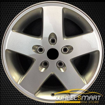 "17"" Jeep Wrangler OEM wheel 2007-2018 Silver alloy stock rim ALY09074U20"
