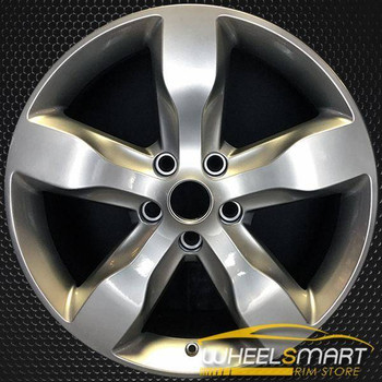 "20"" Jeep Grand Cherokee OEM wheel 2011-2013 Hypersilver alloy stock rim ALY09107U77"