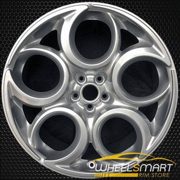 "19"" Alfa Romeo 4C OEM wheel 2015-2017 Gray alloy stock rim ALY58158U30"