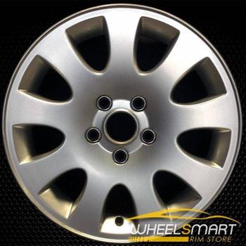 "16"" Audi A6 OEM wheel 1998-2004 Silver alloy stock rim 58717 ALY58717U10"