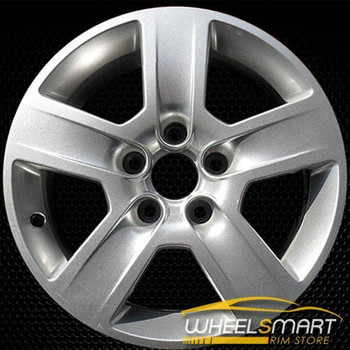 "16"" Audi A4 OEM wheel 2002-2005 Silver alloy stock rim ALY58747U20"