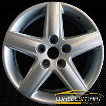 "17"" Audi A4 OEM wheel 2002-2011 Silver alloy stock rim ALY58749U20"