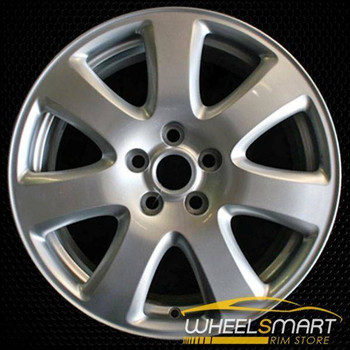 "17"" Jaguar X Type OEM wheel 2004-2008 Silver alloy stock rim ALY59766U20"