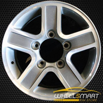 "15"" Geo Tracker OEM wheel 2002-2004 Machined alloy stock rim ALY60182U20"