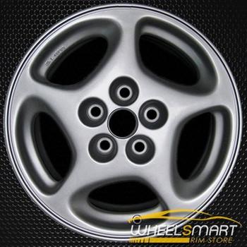 """16"""" Nissan 300ZX OEM wheel 1990-1996 Silver alloy stock rim 62260"""