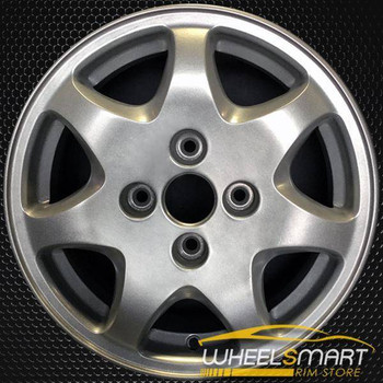 "15"" Nissan 240SX OEM wheel 1991-1994 Machined alloy stock rim ALY62287U10"