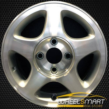 "15"" Nissan Altima OEM wheel 1993-2001 Machined alloy stock rim ALY62303U10"