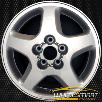 "16"" Nissan 240SX OEM wheel 1995-1998 Silver alloy stock rim ALY62316U10"