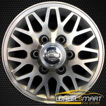 "15"" Nissan Pathfinder OEM wheel 1997-1998 Machined alloy stock rim ALY62343U10"